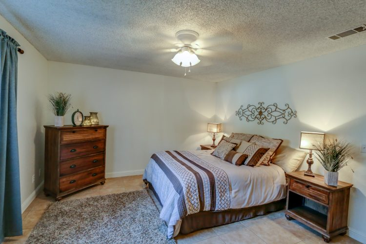 photo of Sierra Meadows master bedroom
