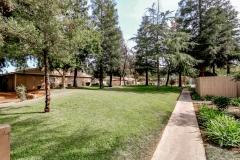 Sierra Meadows grassy area